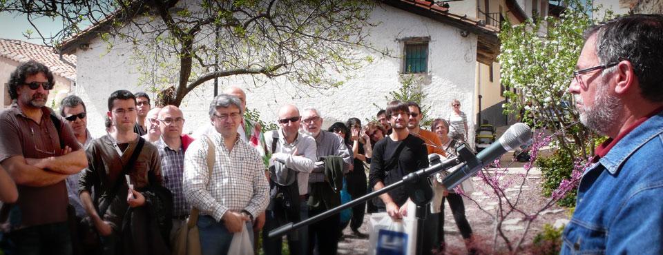 Homenatge a Carles Salvador, Morella, 2011