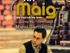 Cartell d\'homenatge a Manel Garcia Grau a la Fira del Llibre de Vila-real