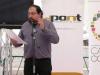 Romà Bernad diu el poema «Tot és ara i res», de Joan Vinyoli