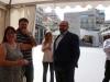 Nel·lo Navarro conversa amb Enric Nomdedéu, Síndic de Compromís a l\'Ajuntament i a la Diputació de Castelló