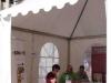 Carpa exterior de la Fira del Llibre de Castelló