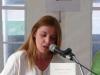 Susanna Lliberós llig poemes del poemari «Compàs d\'espera»
