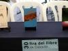 Obres a la taula de presentacions de la XXX Fira del Llibre de Castelló