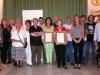 Acte de nomenament com a Socis d\'honor a Joan Baptista Campos i Vicent Pau Serra