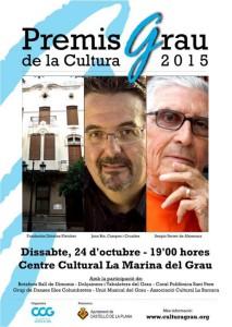 Premis Grau de la Cultura 2015