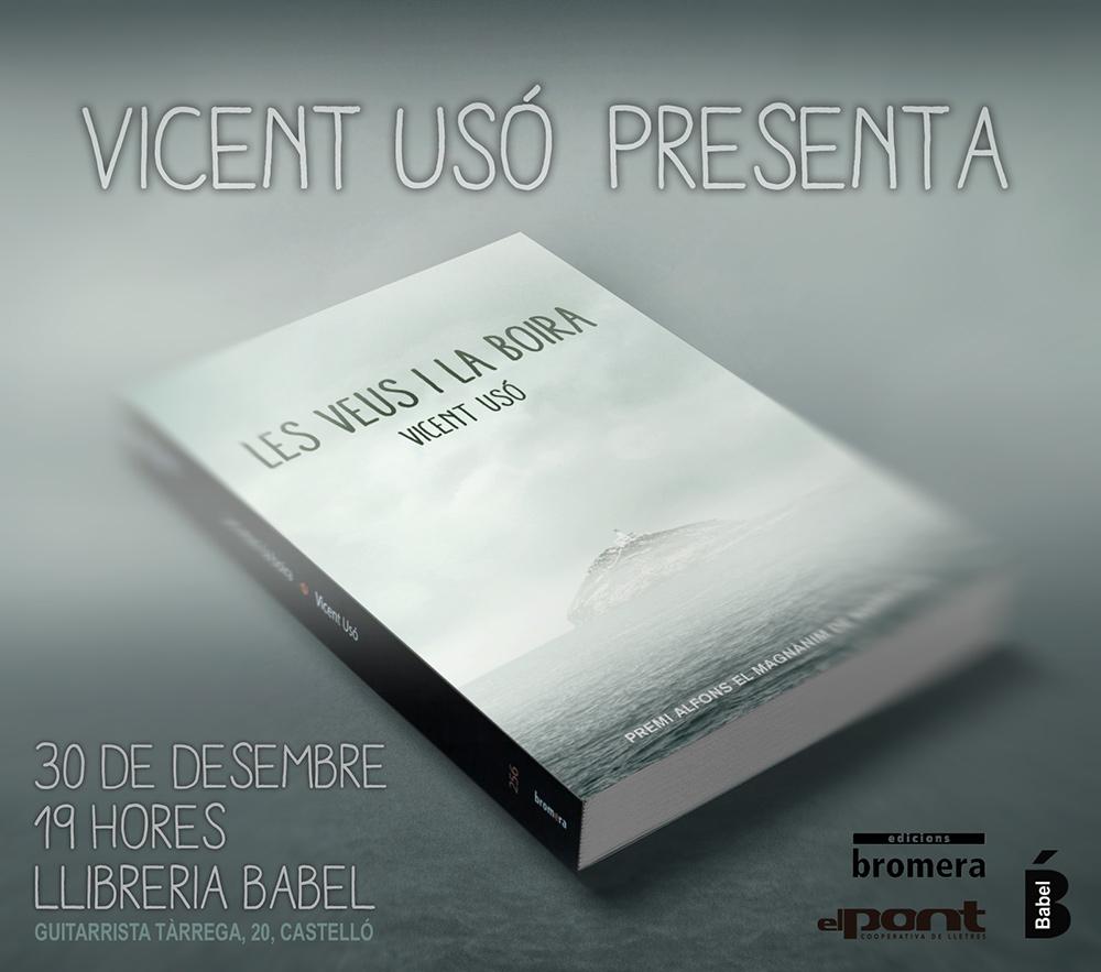 Les veus i la boira, de Vicent usó, presentació a la llibreria Babel