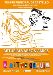 cartell a ritme de blues