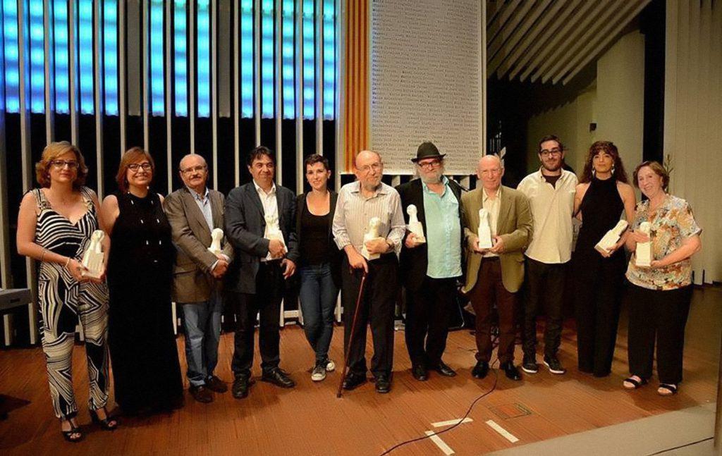 Guardonats amb el premi de la Crítica de l'AELC 2016