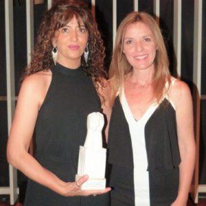 Anna Moner i Susanna Lliberós, presentadora de l)acte