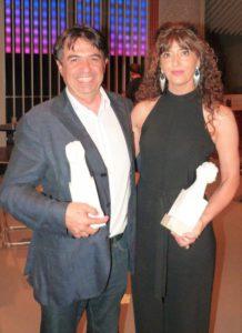 Anna Moner amb Martí Domínguez