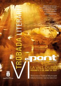 Cartell VI Trobada Literària El Pont