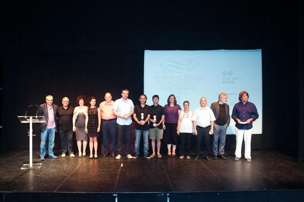 Guanyadors dels Premis Ciutat de Badalona 2016 en les diferents categories