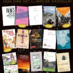Autores i autors d'El Pont a la XXXV Fira del Llibre de Castelló