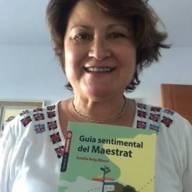 Amàlia Roig presenta «Guia sentimental del Maestrat»