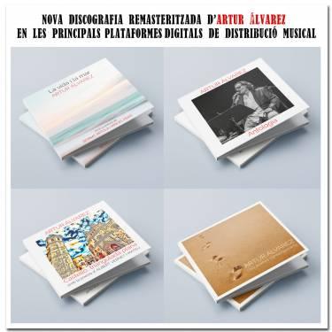 El cantautor Artur Álvarez reedita la seua discografia, remasteritzada i revisada, en les principals plataformes digitals