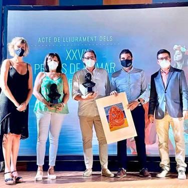 Artur Álvarez, guanyador del premi de poesia Miquel Peris Segarra 2021 amb  LA MAR ALS LLAVIS